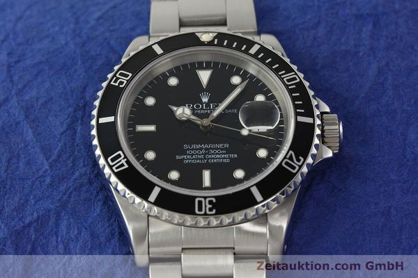 Used luxury watch Rolex Submariner steel automatic Kal. 3135 Ref. 16610  | 143072 16