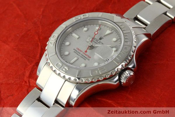 Used luxury watch Rolex Yacht-Master steel / platinium automatic Kal. 2235 Ref. 169622  | 143073 01