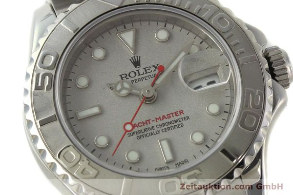 Used luxury watch Rolex Yacht-Master steel / platinium automatic Kal. 2235 Ref. 169622  | 143073 02