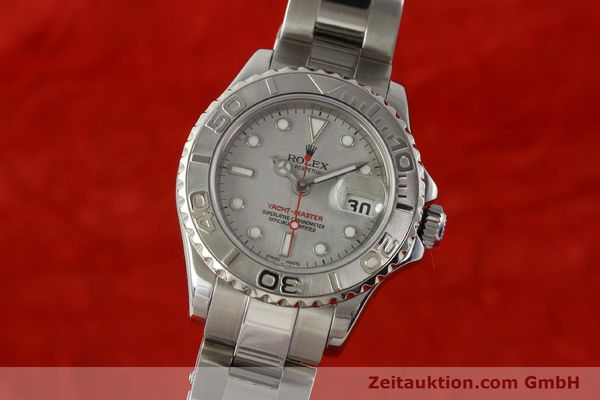 Used luxury watch Rolex Yacht-Master steel / platinium automatic Kal. 2235 Ref. 169622  | 143073 04