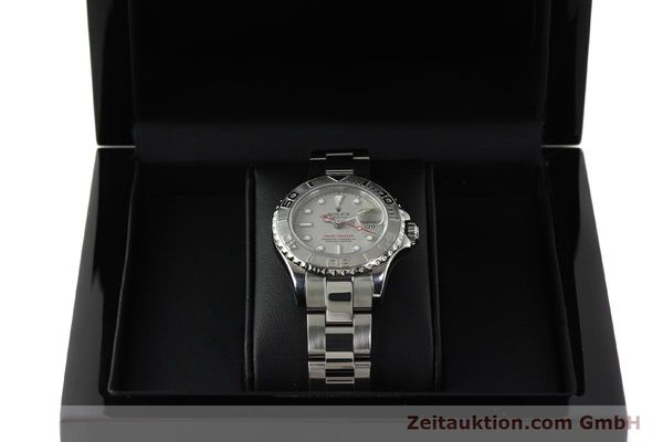 Used luxury watch Rolex Yacht-Master steel / platinium automatic Kal. 2235 Ref. 169622  | 143073 07