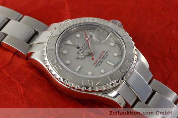 Used luxury watch Rolex Yacht-Master steel / platinium automatic Kal. 2235 Ref. 169622  | 143073 15