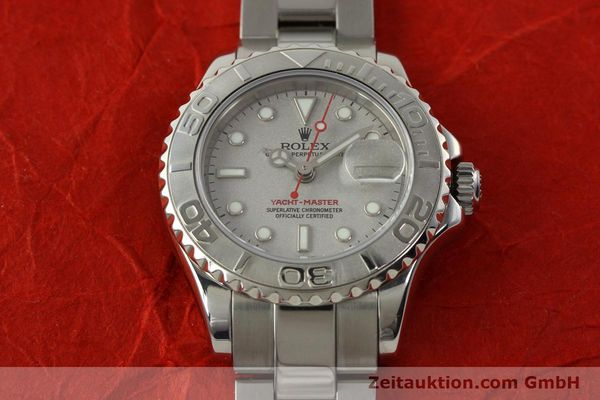 Used luxury watch Rolex Yacht-Master steel / platinium automatic Kal. 2235 Ref. 169622  | 143073 16