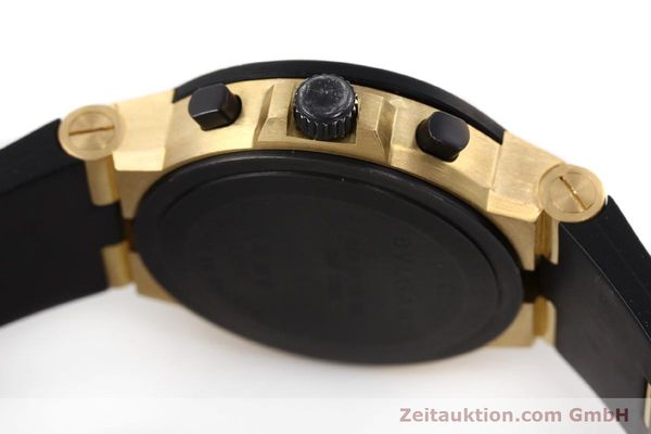 Used luxury watch Bvlgari Diagono chronograph 18 ct gold automatic Kal. TEEE Ref. AC38G  | 143076 08