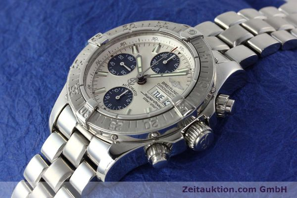 Used luxury watch Breitling Superocean Chronograph chronograph steel automatic Kal. B13 ETA 7750 Ref. A13340  | 143077 01
