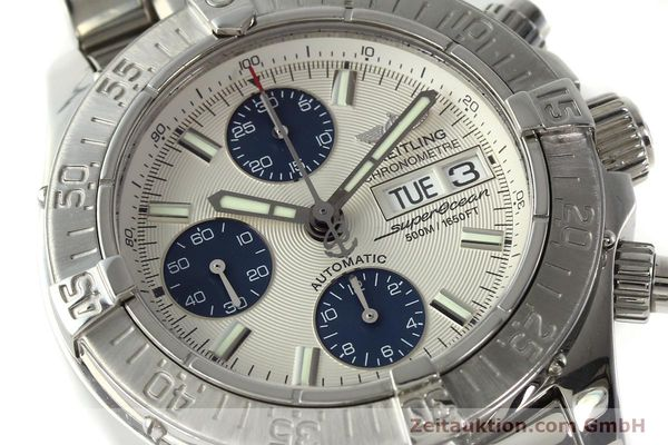 Used luxury watch Breitling Superocean Chronograph chronograph steel automatic Kal. B13 ETA 7750 Ref. A13340  | 143077 02