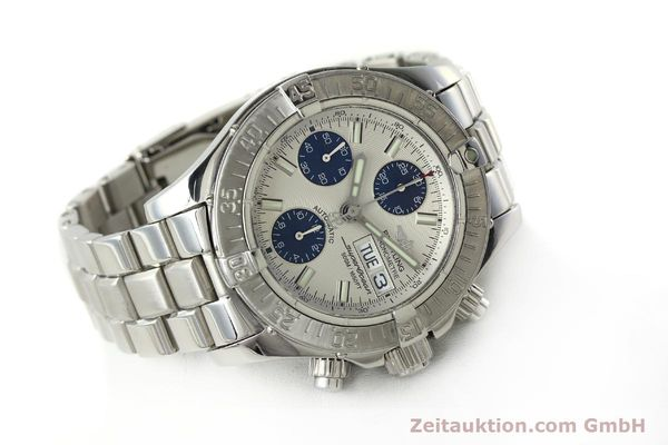 Used luxury watch Breitling Superocean Chronograph chronograph steel automatic Kal. B13 ETA 7750 Ref. A13340  | 143077 03