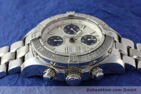 Used luxury watch Breitling Superocean Chronograph chronograph steel automatic Kal. B13 ETA 7750 Ref. A13340  | 143077 05