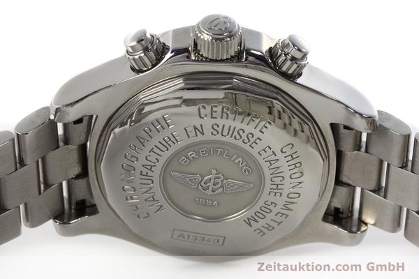 Used luxury watch Breitling Superocean Chronograph chronograph steel automatic Kal. B13 ETA 7750 Ref. A13340  | 143077 09