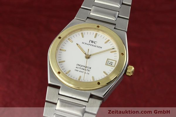 Used luxury watch IWC Ingenieur steel / gold automatic Kal. 37590 Ref. 3508  | 143078 04