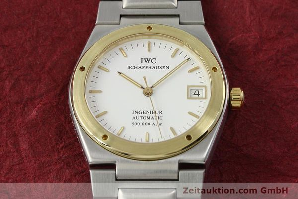 Used luxury watch IWC Ingenieur steel / gold automatic Kal. 37590 Ref. 3508  | 143078 16