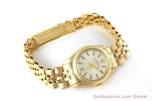 Used luxury watch Rolex Oyster Perpetual 18 ct gold automatic Kal. 2030 Ref. 6719  | 143081 03