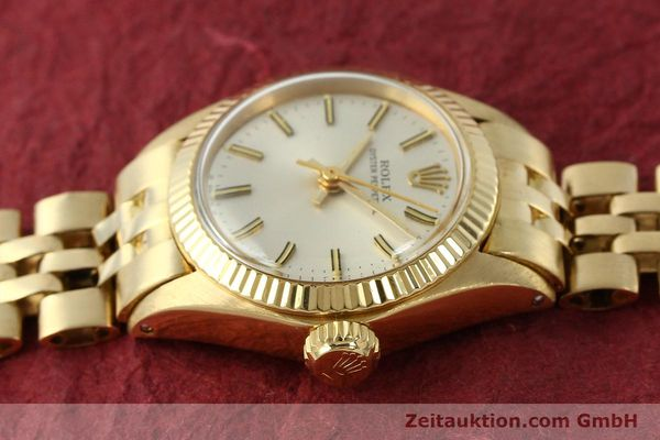 Used luxury watch Rolex Oyster Perpetual 18 ct gold automatic Kal. 2030 Ref. 6719  | 143081 05