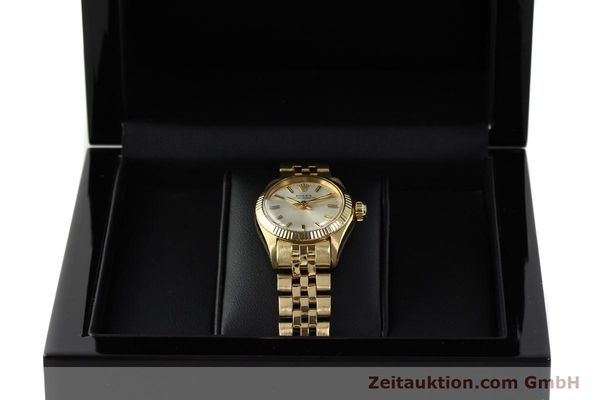 Used luxury watch Rolex Oyster Perpetual 18 ct gold automatic Kal. 2030 Ref. 6719  | 143081 07