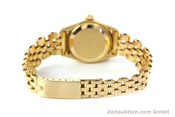 Used luxury watch Rolex Oyster Perpetual 18 ct gold automatic Kal. 2030 Ref. 6719  | 143081 12