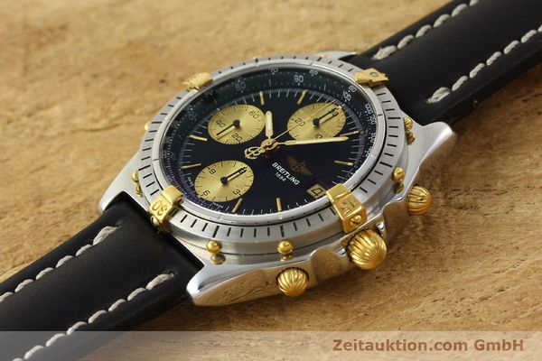 Used luxury watch Breitling Chronomat chronograph steel / gold automatic Kal. B13 VAL 7750 Ref. 81950B13047  | 143086 01