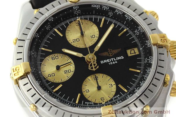 Used luxury watch Breitling Chronomat chronograph steel / gold automatic Kal. B13 VAL 7750 Ref. 81950B13047  | 143086 02