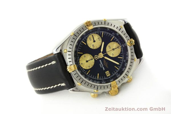 Used luxury watch Breitling Chronomat chronograph steel / gold automatic Kal. B13 VAL 7750 Ref. 81950B13047  | 143086 03