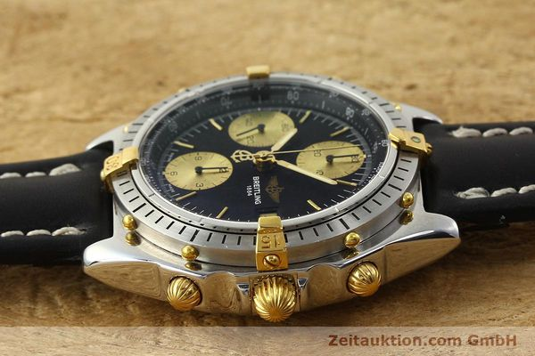 Used luxury watch Breitling Chronomat chronograph steel / gold automatic Kal. B13 VAL 7750 Ref. 81950B13047  | 143086 05