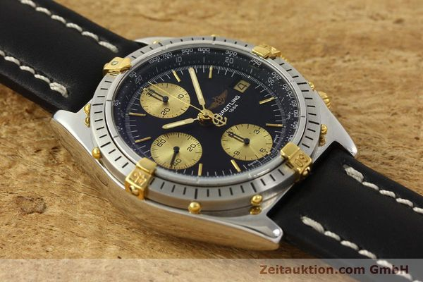 Used luxury watch Breitling Chronomat chronograph steel / gold automatic Kal. B13 VAL 7750 Ref. 81950B13047  | 143086 13