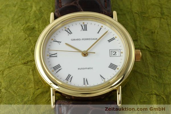 Used luxury watch Girard Perregaux * 18 ct gold automatic Kal. 2200 Ref. 4799.51  | 143087 16