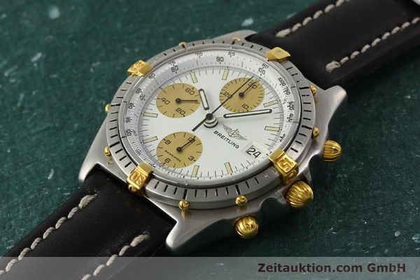 Used luxury watch Breitling Chronomat chronograph steel / gold automatic Kal. Val 7750 Ref. 81950  | 143088 01