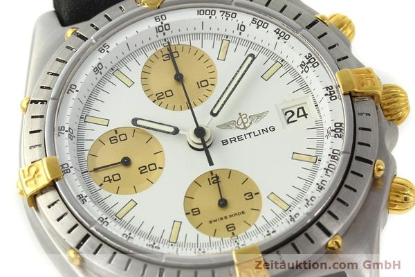 Used luxury watch Breitling Chronomat chronograph steel / gold automatic Kal. Val 7750 Ref. 81950  | 143088 02