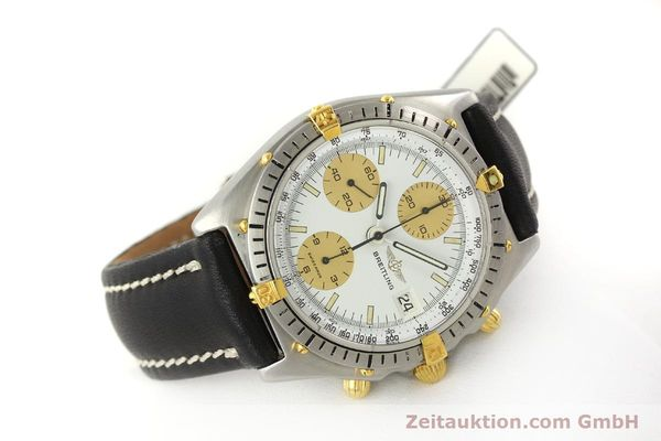 Used luxury watch Breitling Chronomat chronograph steel / gold automatic Kal. Val 7750 Ref. 81950  | 143088 03