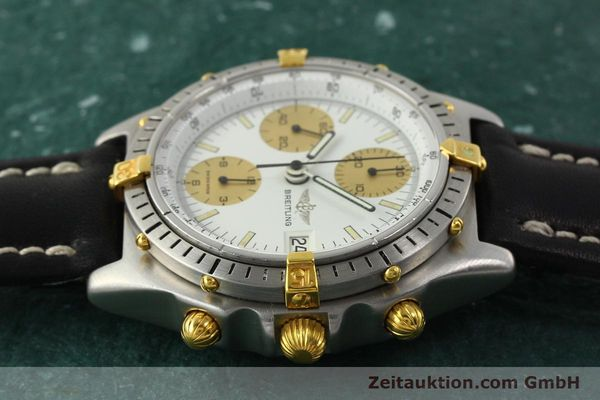 Used luxury watch Breitling Chronomat chronograph steel / gold automatic Kal. Val 7750 Ref. 81950  | 143088 05