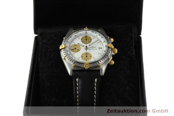 Used luxury watch Breitling Chronomat chronograph steel / gold automatic Kal. Val 7750 Ref. 81950  | 143088 07