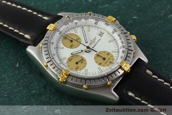 Used luxury watch Breitling Chronomat chronograph steel / gold automatic Kal. Val 7750 Ref. 81950  | 143088 13