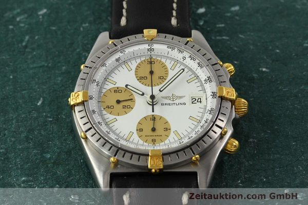 Used luxury watch Breitling Chronomat chronograph steel / gold automatic Kal. Val 7750 Ref. 81950  | 143088 14