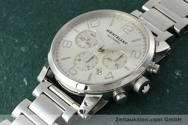 Used luxury watch Montblanc Timewalker chronograph steel automatic Kal. 4810502 Ref. 7141  | 143089 01