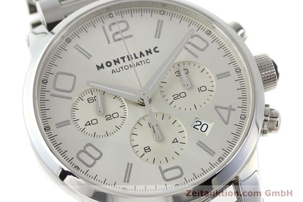 Used luxury watch Montblanc Timewalker chronograph steel automatic Kal. 4810502 Ref. 7141  | 143089 02
