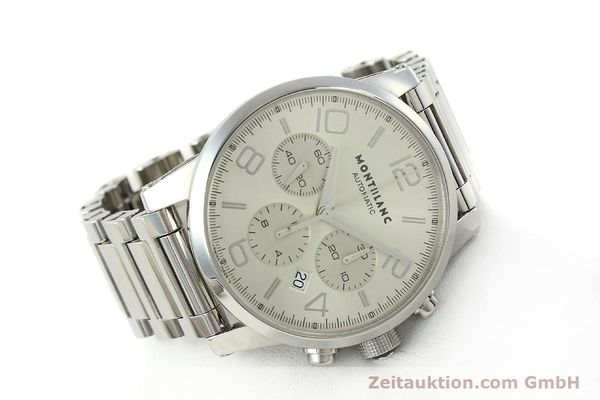 Used luxury watch Montblanc Timewalker chronograph steel automatic Kal. 4810502 Ref. 7141  | 143089 03