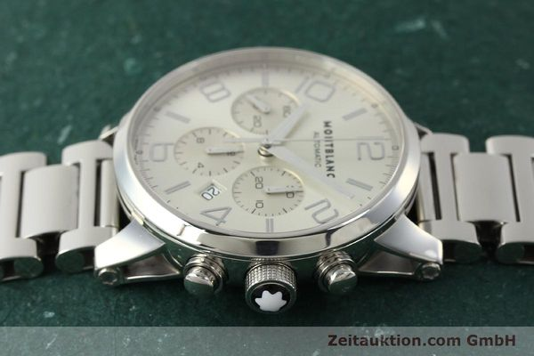 Used luxury watch Montblanc Timewalker chronograph steel automatic Kal. 4810502 Ref. 7141  | 143089 05