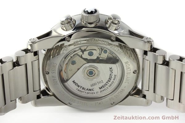 Used luxury watch Montblanc Timewalker chronograph steel automatic Kal. 4810502 Ref. 7141  | 143089 09
