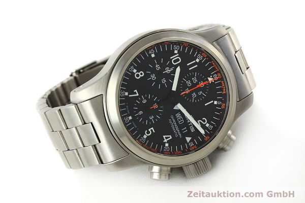 Used luxury watch Fortis B42 chronograph steel automatic Kal. ETA 7750  | 143092 03