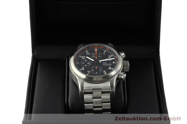 Used luxury watch Fortis B42 chronograph steel automatic Kal. ETA 7750  | 143092 07