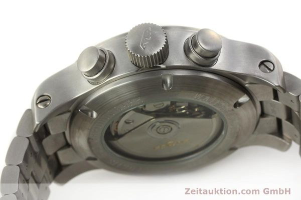 Used luxury watch Fortis B42 chronograph steel automatic Kal. ETA 7750  | 143092 08