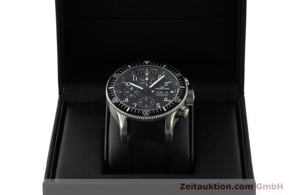 Used luxury watch Fortis B42 chronograph steel automatic Kal. ETA 7750 Ref. 638.22.141  | 143093 07
