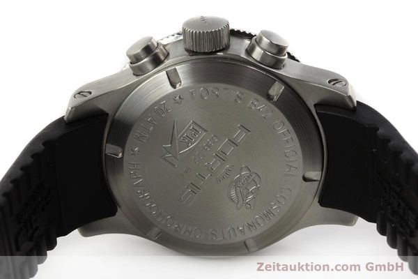 Used luxury watch Fortis B42 chronograph steel automatic Kal. ETA 7750 Ref. 638.22.141  | 143093 09