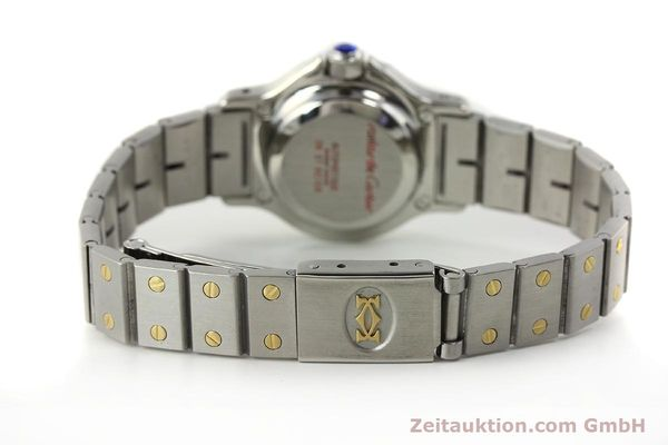Used luxury watch Cartier Santos steel / gold automatic Kal. ETA 2670  | 143097 10