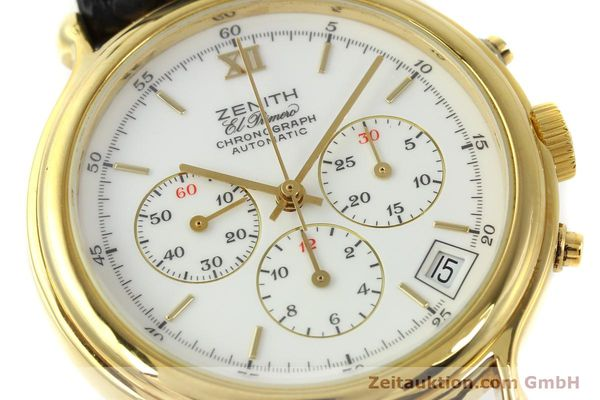 Used luxury watch Zenith Elprimero chronograph gold-plated automatic Kal. 400 Ref. 20.0020.435  | 143099 02