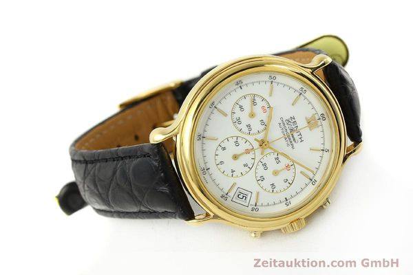 Used luxury watch Zenith Elprimero chronograph gold-plated automatic Kal. 400 Ref. 20.0020.435  | 143099 03