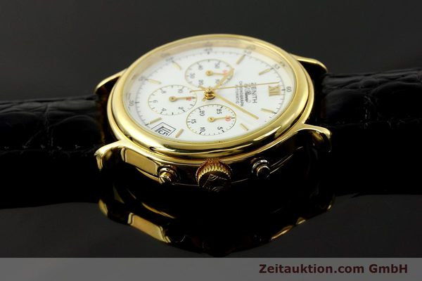 Used luxury watch Zenith Elprimero chronograph gold-plated automatic Kal. 400 Ref. 20.0020.435  | 143099 05
