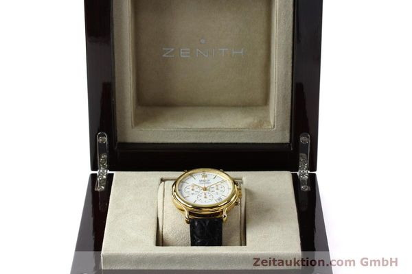 Used luxury watch Zenith Elprimero chronograph gold-plated automatic Kal. 400 Ref. 20.0020.435  | 143099 07