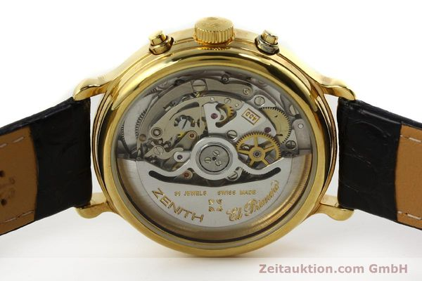 Used luxury watch Zenith Elprimero chronograph gold-plated automatic Kal. 400 Ref. 20.0020.435  | 143099 09