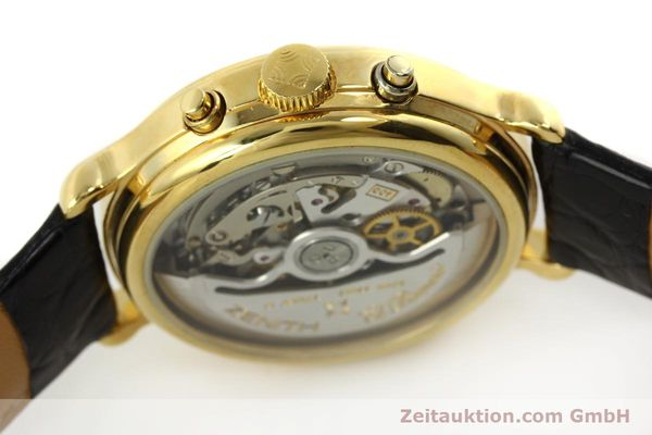 Used luxury watch Zenith Elprimero chronograph gold-plated automatic Kal. 400 Ref. 20.0020.435  | 143099 11