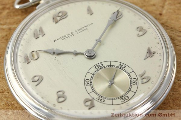 Used luxury watch Vacheron & Constantin Taschenuhr 18 ct white gold manual winding  | 143105 02